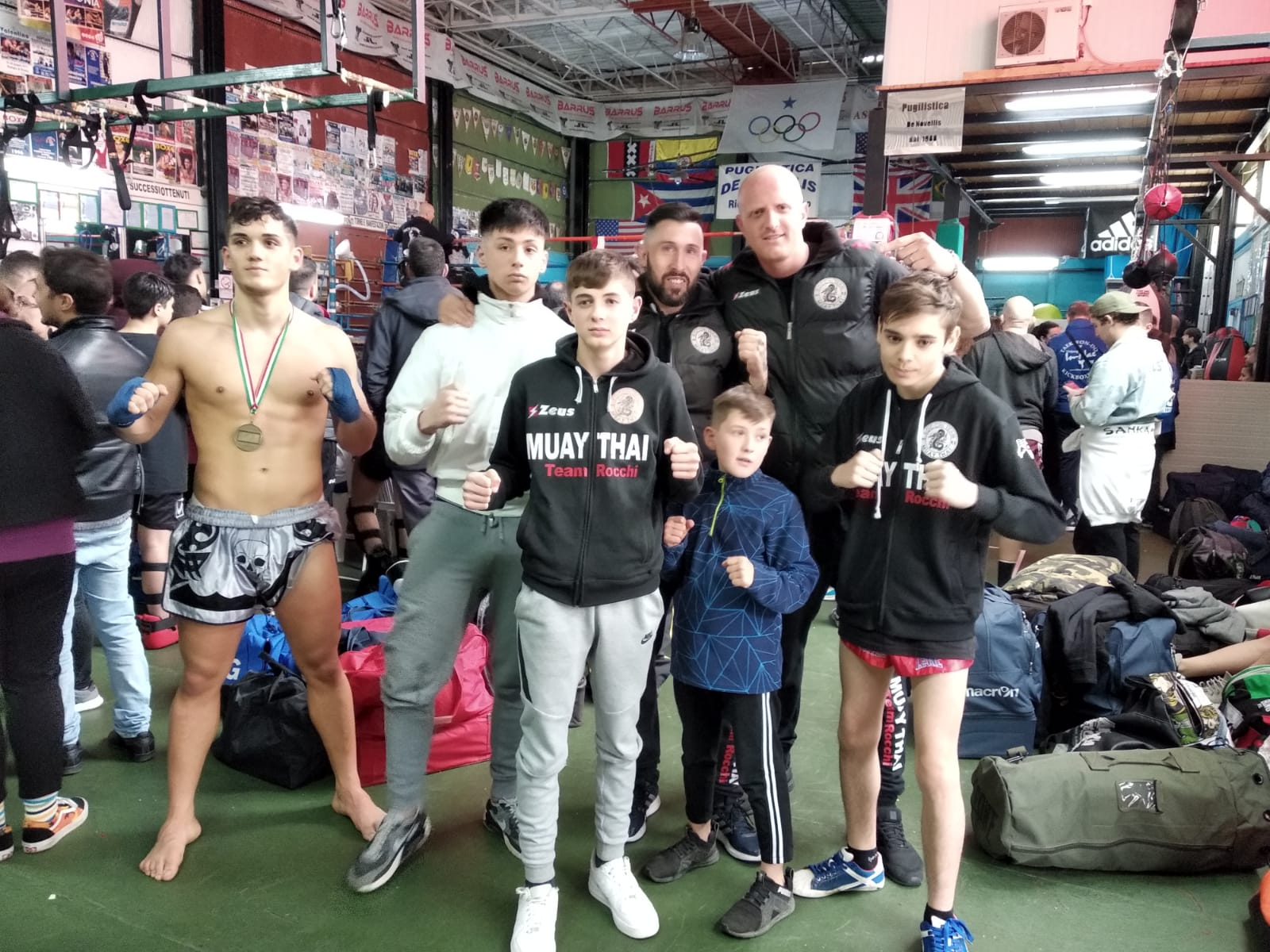 Foto Galleria SPORTMANIA 2019 - Gruppo Muay Thai Boxing Club